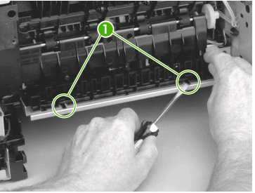 hp laserjet p3015 fuser replacement instructions